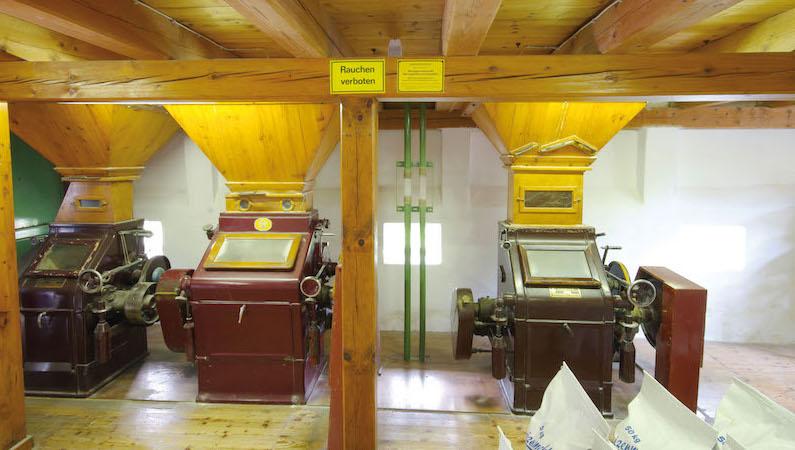 Ein Blick auf die Schüttmühle